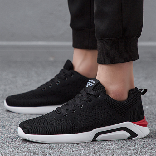 Men's fashion mesh breathable lightweight sport shoes