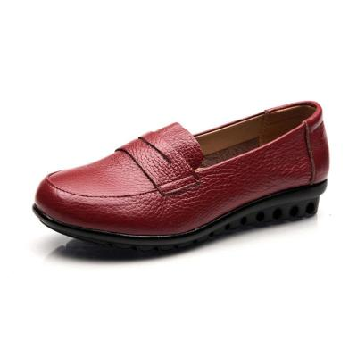 Women PU Loafers Casual Comfort Plus Size Shoes