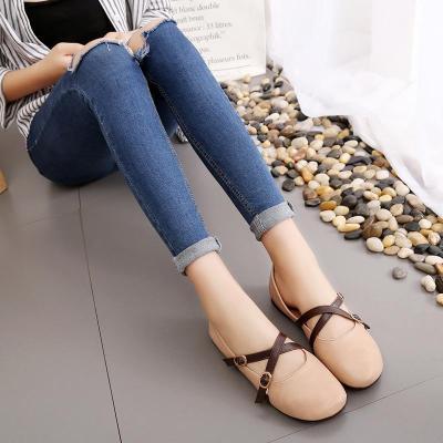 Women Autumn Stylish Casual Shallow Mouth Flat & Loafers