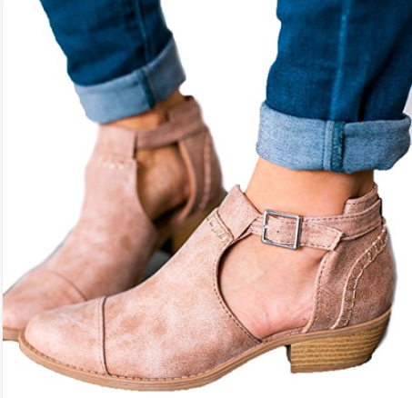 Flat Bottom Hollowed Out Handmade Casual flat shoes
