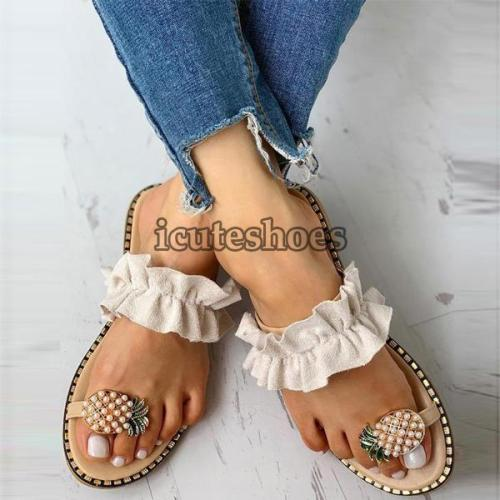 Bohemian Style Lady Casual Sandals Slippers Beach Shoes