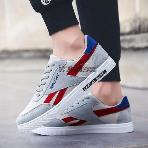 Summer New Vintage Canvas Low Help Men's Shoes Breathable Wear Wear Sneakers Fashion Casual Shoes