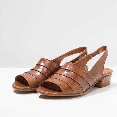 Chunky Heel Peep Toe Sandals Plus Size Vintage Womens Shoes
