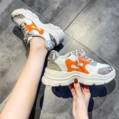 Autumn Well-Ventilated Sport Lace-Up Sneakers