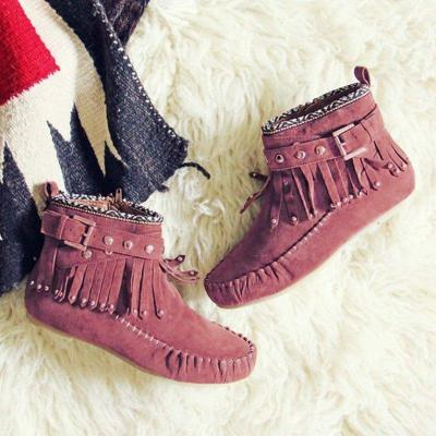 Suede Fall Casual Boots