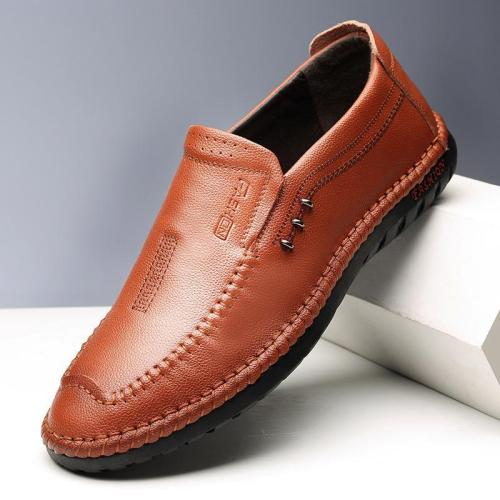 Round Toe Flat Slip on Loafer