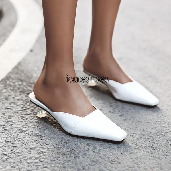 Large Size Sandal New Style One Word Leather In Spring and Summer 2020 Women