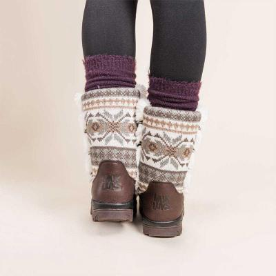 Women Thick Sole Warm Mid-calf Boots