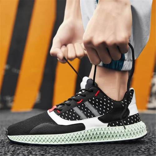 Men's Casual And Comfortable   Fashion Color Matching Men's Sneakers