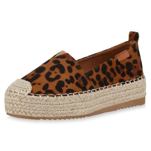 Women'S Espadrilles Sandals With Platform Heel Loafers