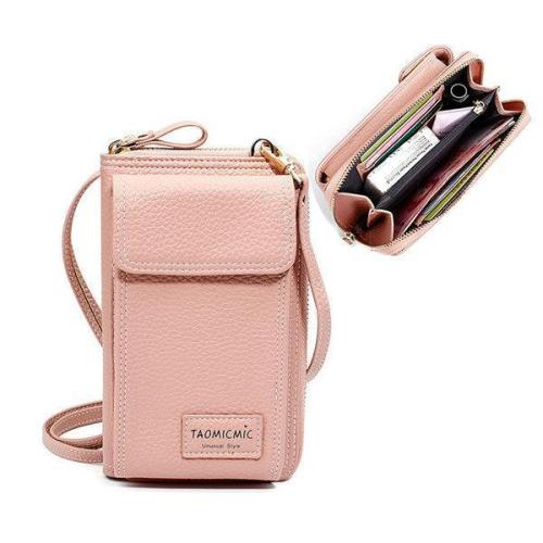 Faux leather Clutch Bag 4 Card Slot Bag Crossbody Bag