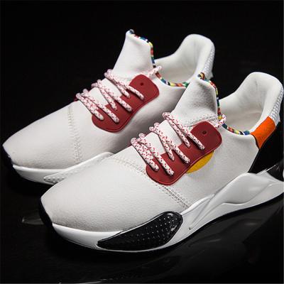 Men's ultra-fibre casual color matching sport sneakers