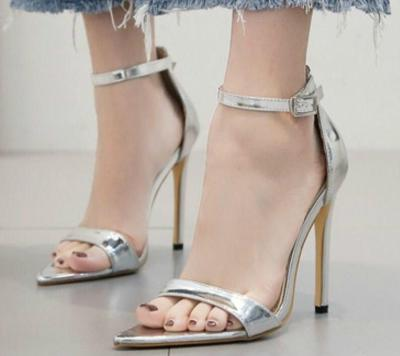 thin high heels pumps party nigh-club shoes woman luxury PU office ladies gladiator