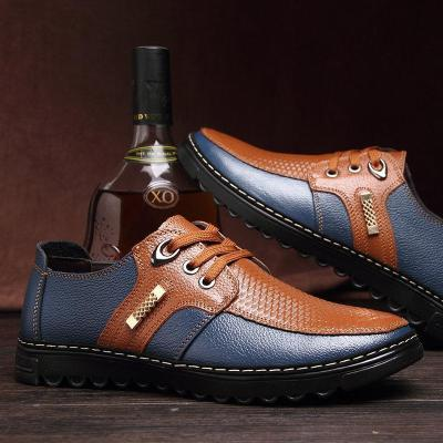Mens Non Slip Lace Up Soft Casual Flat Shoes
