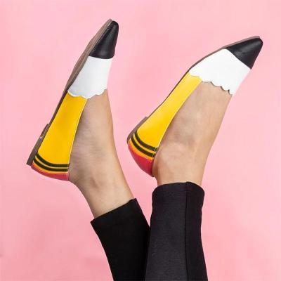 Multicolor Split Joint Flats