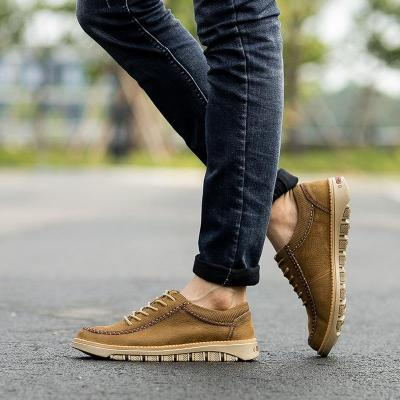Mens Casual Lace-up Low Top Fashion Flats