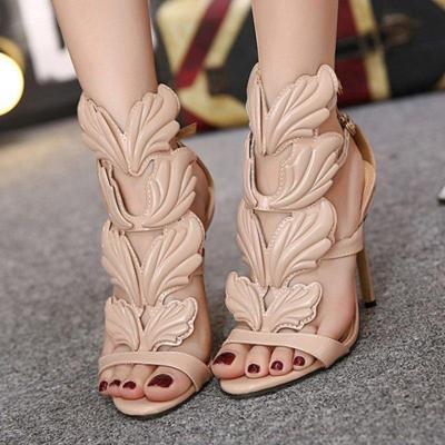 Summer Buckle Stiletto Heel Sandals