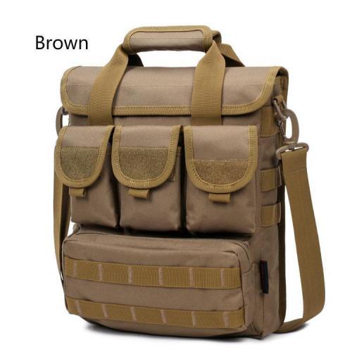 Outdoor Multi Pocket Oxford Handbags Tactical Crossbody Bags