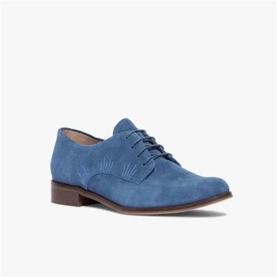 comfortable low heel front lace-up casual single shoes shoes
