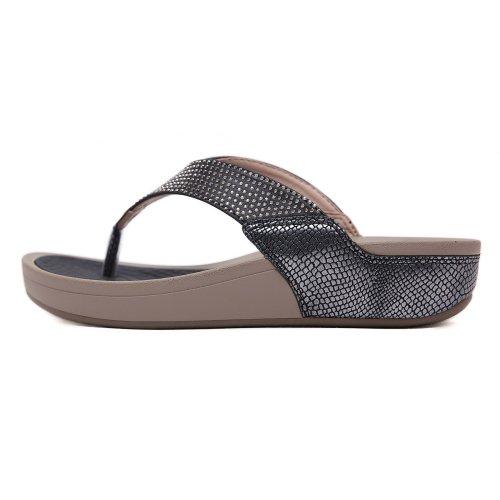 Rhinestone Casual Wedges Platforms Flip-Flop Sandals
