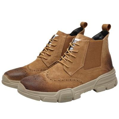 Casual Bullock carve patterns   Martin boots