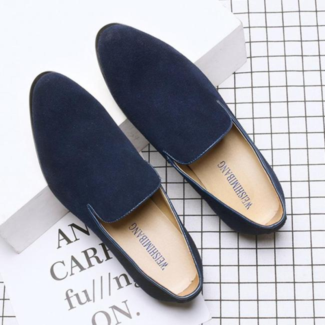 Pointed Toe Casual Slip on Loafers