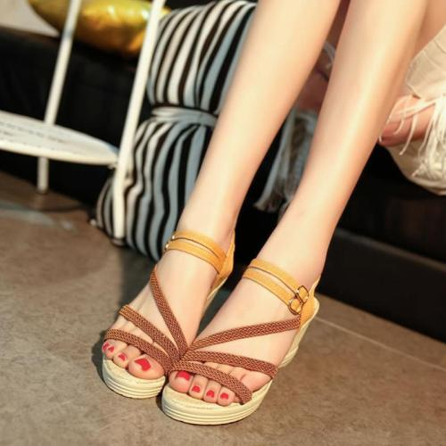 Sandals Summer Wedges Gladiator Sandals Women High Heel Sandals