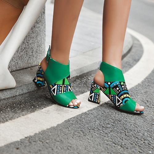 Women's fashion high heel sandals