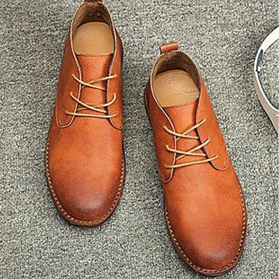 Retro British Outfit Martin Boots