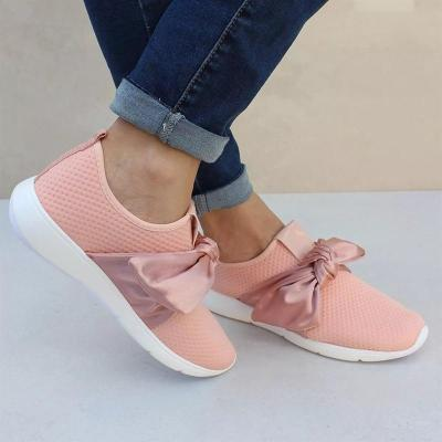 Women's Bowknot Breathable Casual Sneakers