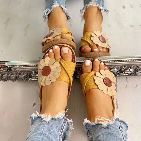 Summer Holiday Flower Sandals
