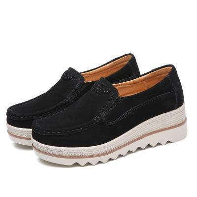 Women Casual All Season Slip-on Daily Platform Flats