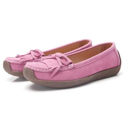 Women New Loafers Non-Slip Bottom Design Bow Decoration Soft Shoes