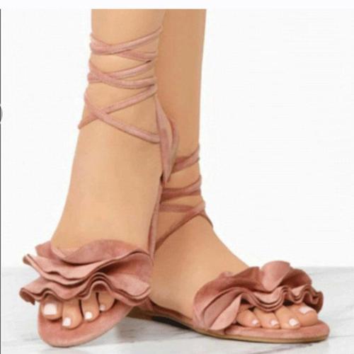 Sandals Ankle Strap Gladiator Sandals Women Shoes Ladies