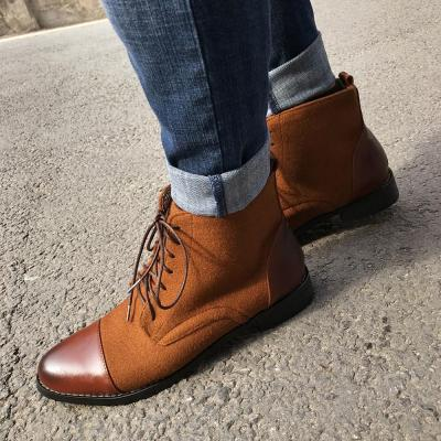 Coloured Men's Boots