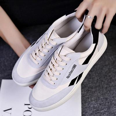 Casual Canvas Lace-up Flat Shoes Outdoor Shoes