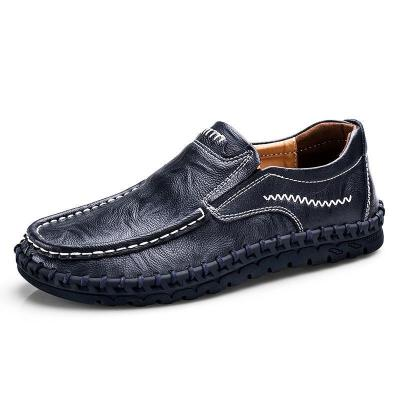 Men Non-slip Casual Cowhide Loafers