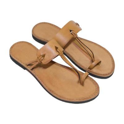 Plain Flat Peep Toe Casual Comfort Slippers Sandals