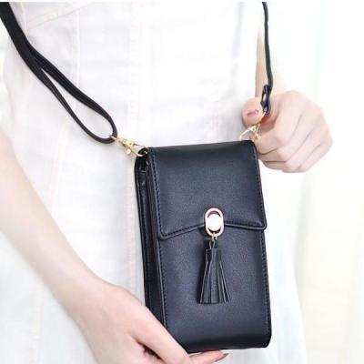 Bohemian Tassel Shoulder Bag 5.5 Inches Phone Bag For Women