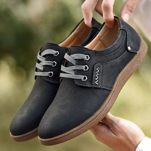 Retro Size Soft Bottom Casual Shoes