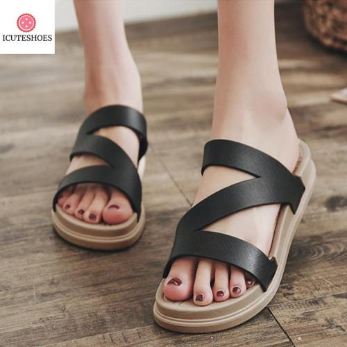 Sandals Slipper Indoor Outdoor Flip-flops Beach Shoes New Fashion Female