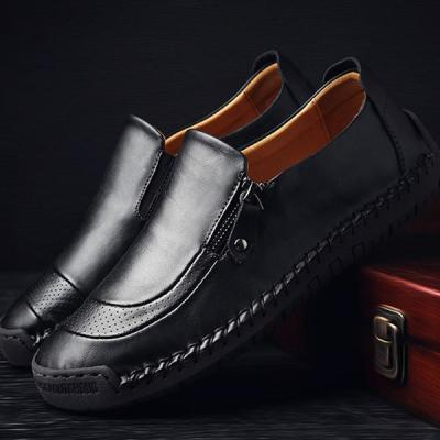 Casual Men's Soft Flat Formal Shoes Slip on Shoes