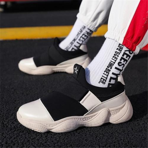 Men's low-cut casual breathable sport sneakers