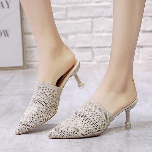 High Heels Low Heel Sets Semi Slippers