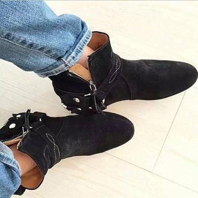 Women's Faux Suede  Boots