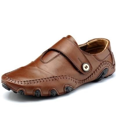 Men Handmade Genuine Leather Loafers Shoes