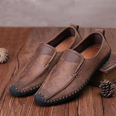 Casual Soft Comfy Stitching Anti-collision Flat Slip on Shoes