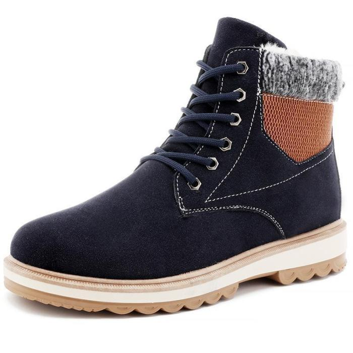 Winter Waterproof P[Added Warm Men's Martin Boots