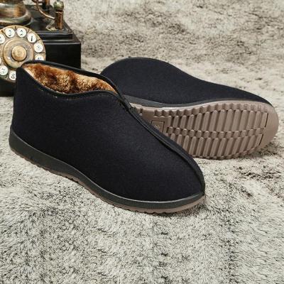 Velvet Thicken High Non-slip Old Fashion Shoes