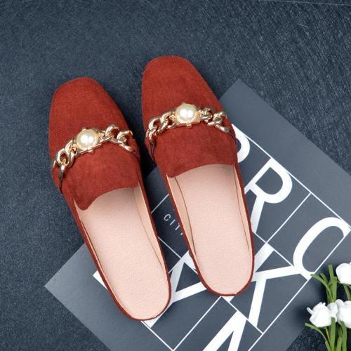 Flat Slippers Women Cozy Muller Sandals Summer